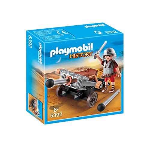 Playmobil History 5392 - Legionario con Catapulta di Tipo Ballista, dai 6 anni