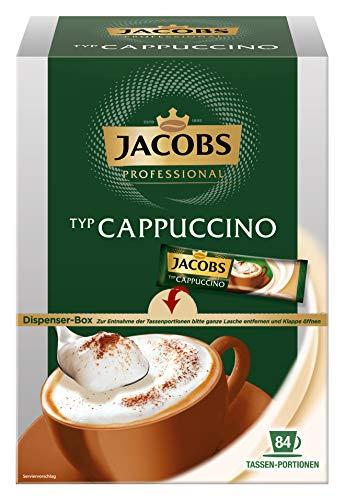 Jacobs Professional Cappuccino Sticks, 2 x 84 Sticks à 11g, 4031696