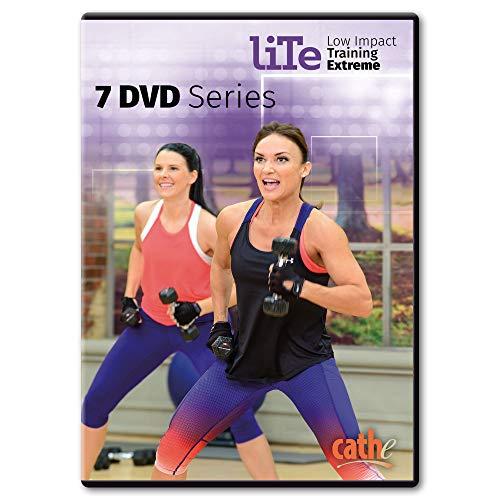 Cathe Friedrich LITE Series (Low Impact Training Extreme) 7 DVD...