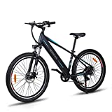 "Macwheel 27.5"" Electric Mountain Bike, 250W Brushless Motor, Removable 450Wh 36V/12.5Ah Lithium Battery"
