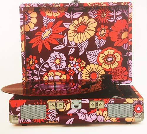 Crosley X Uo Cruiser Briefcase Printed Portable Record Player Size