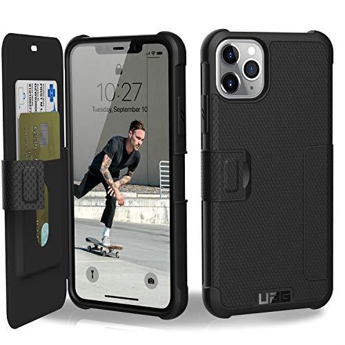 URBAN ARMOR GEAR iPhone 11 Pro Max(6.5インチ)対応耐衝撃ケース METROPOLIS(手帳型) ブラック 【日本正規代理店品】 UAG-IPH19LF-BK