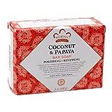 Nubian Heritage Soap Bar Coconut Papaya (Pack Of 6)