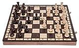 SQUARE - Ajedrez de Madera - SPORT - 40 x 40 cm - Piezas de ajedrez & Tablero de ajedrez