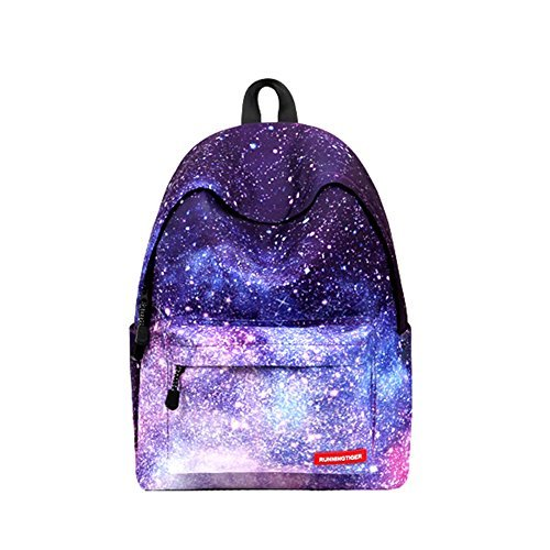 VentoMarea Unisex Galaxy School Backpack Laptop Bag Sports Traveling Daypack
