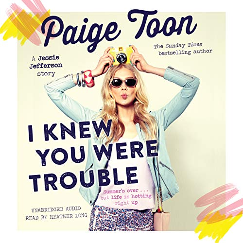 I Knew You Were Trouble audiobook cover art