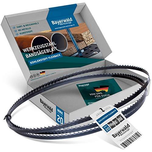 Bayerwald - Hoja de sierra de cinta (2233 x 10 x 0,5 x 4, madera, metales no ferrosos, plástico, chapas delgadas/cinta de sierra adecuada para sierras de cinta)