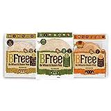 Bfree Gluten Free Wrap Tortillas Variety Pack 8' Sweet Potato, Multigrain, Quinoa, Wraps Variety