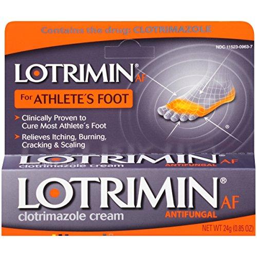 Lotrimin AF Antifungal Cream for Athlete's Foot,...