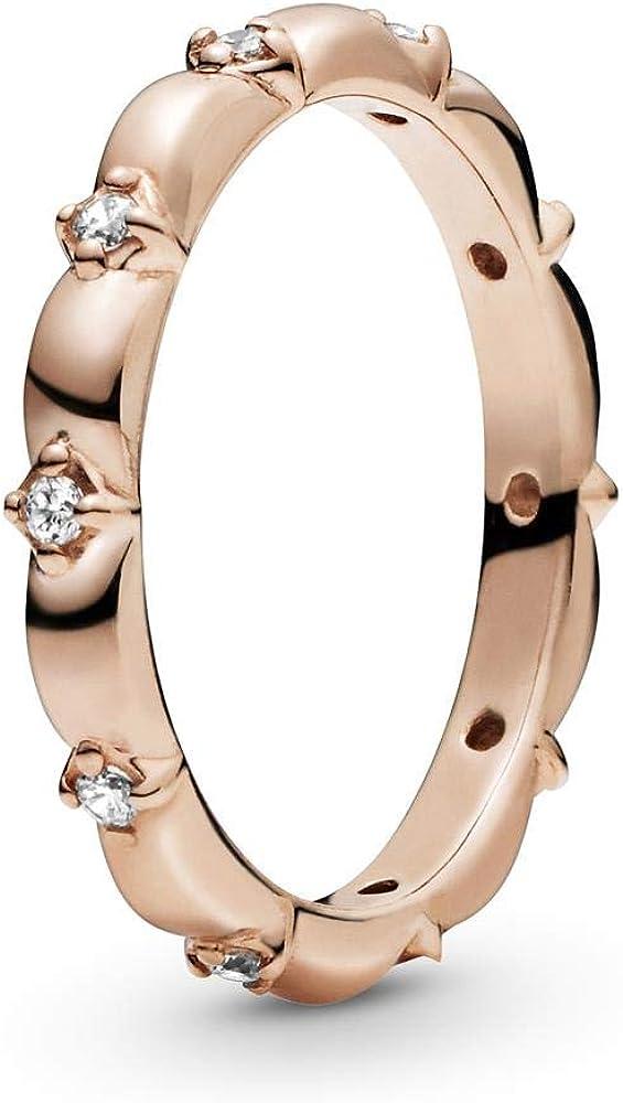 PANDORA Flower Petals Band Ring