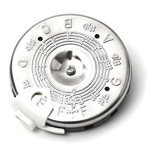 Elagon (PPF) Chromatische circulaire stemapparaat, van fa tot fa, voor stem en zang en voor het stemmen van muziekinstrumenten. De perfecte tuner om af te stemmen op het oor en het gehoor te trainen. Chromatische tuner voor alle strijkinstrumenten, blaasinstrumenten, etc.