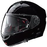 Nolan N104 Absolute Classic Klapphelm Motorrad Polycarbonat n-com - schwarz glänzend Größe 2XL