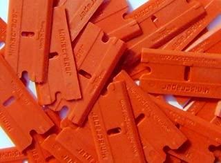 Plastic Razor Scraper Blades Double Edged (1 Pack)