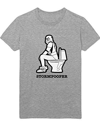 T-Shirt Stormpooper C140008 Grau M