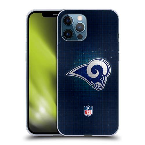 Head Case Designs Offiziell Zugelassen NFL LED Los Angeles Rams Artwork Soft Gel Handyhülle Hülle Huelle kompatibel mit Apple iPhone 12 Pro Max
