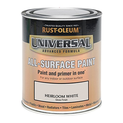 Rust-Oleum AMZ0054 250ml Universal Paint - Gloss Heirloom White
