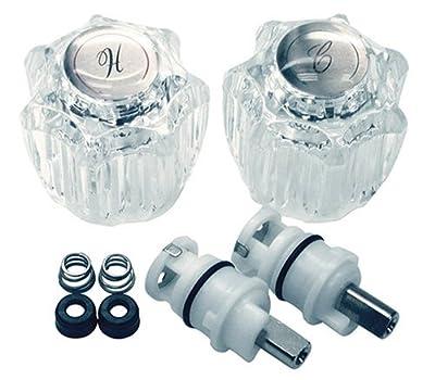 DANCO Complete Faucet Rebuild Trim Kit for Delta Faucets, Acrylic, 1 Kit (39675)