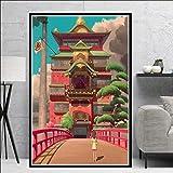 ARjzap DIY Pintar por números Dibujos Animados de Anime Regalo de Pintura al óleo de Lienzo Digital para niños, Estudiantes, Adultos