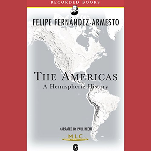 The Americas audiobook cover art