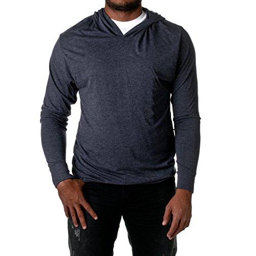 Next Level Mens Triblend Long-Sleeve Hoodie (N6021) -VINTAGE NA -L