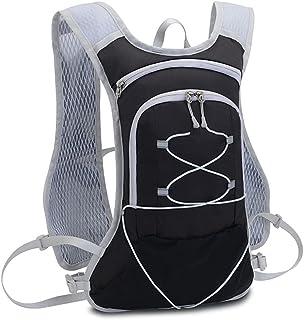 Fyuanmeiiqxbbb hydration backpack Outside Cycling Backpack Linear Sports Backpack Bicycle Water Bag Marathon Hiking Mounta...