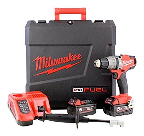 Milwaukee M18 x 502 FPD-Kraftstoff boormachine, 18 V, 2 x 5,0 Ah Li-Ion