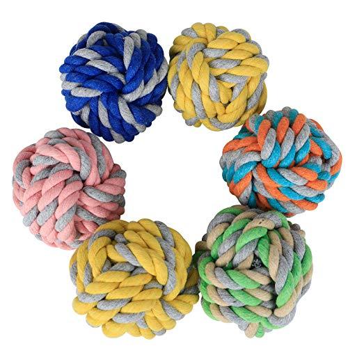 6 Stück Welpen-Kauspielzeuge für Welpen, interaktives Spielzeug, Kauspielzeug für kleine Hunde, Welpenspielzeug