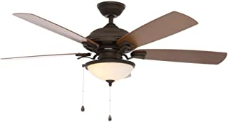 Home Decorators Collection North Lake 52 in. Oil Rubbed Bronze Ceiling Fan