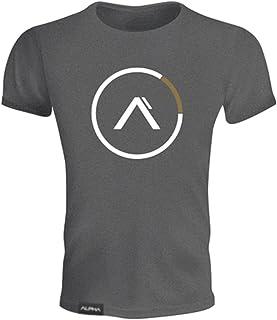MANATSULIFE メンズ トレーニングウェア Tシャツ 半袖 スポーツシャツ 筋トレ フィットネス DT-19