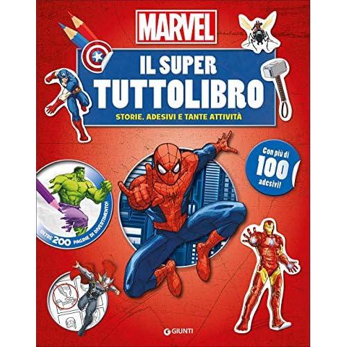 Il super tuttolibro. Marvel