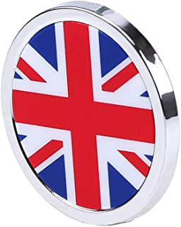 HIGGER 1 Unids Exterior del Coche Accesorios Inglaterra Bandera Nacional 3D Metal Etiqueta Mini Emblema Redondo