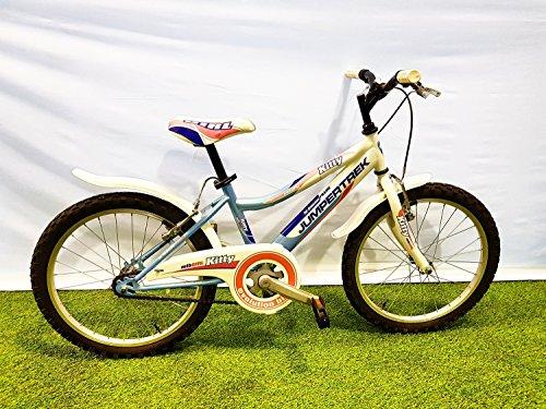 mountain bike jumpertrek CINZIA Bici Bicicletta MTB JUMPERTREK Kitty 20'' Colore Celeste