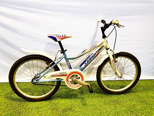 CINZIA Bici Bicicletta MTB JUMPERTREK Kitty 20'' Colore Celeste