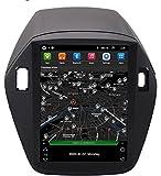 LINGJIE per Hyundai IX35 2011-2017 Android 9.0 Autoradio Radio Doppio DIN SAT NAV Navigazione GPS da 9 Pollici Touchscreen Lettore multimediale Ricevitore Video con 4G DSP Carplay