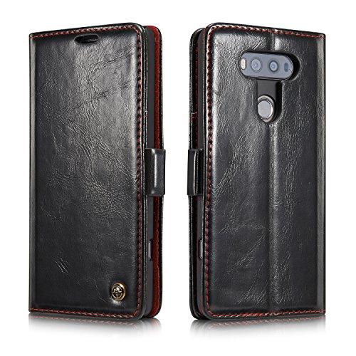 Bpowe Case for LG V20,PU Leather Wallet Phone Case [Card Slot] [Flip]...
