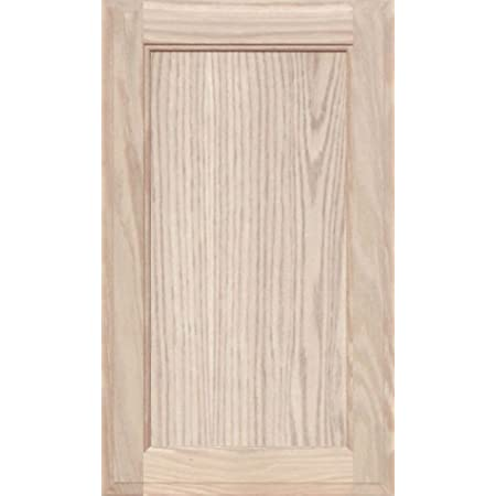 Unfinished MDF Square Flat Panel Cabinet Door by Kendor 34H x 20W