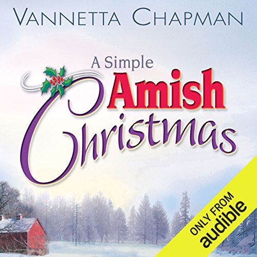 A Simple Amish Christmas audiobook cover art