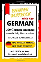 German Beginner Workbook: A1-A2 Level  |Learn German essential daily life expressions