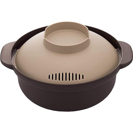イモタニ 電子レンジ調理鍋 レンジでひとり鍋 1.5L KB-700