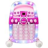 Best Karaoke Machines - RockJam CD & Bluetooth Karaoke Machine With Two Review