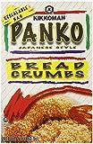 Kikkoman Panko Japanese Style Breading Crumbs, 1 Pound (2 Pack)