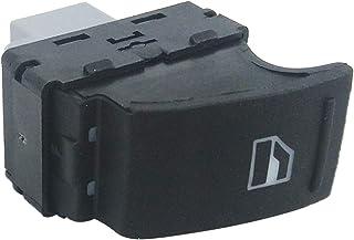 Almencla Schwarz Electrische Fenster Schalter Button Fensterheber Schalter für VW Transporter T5 T6