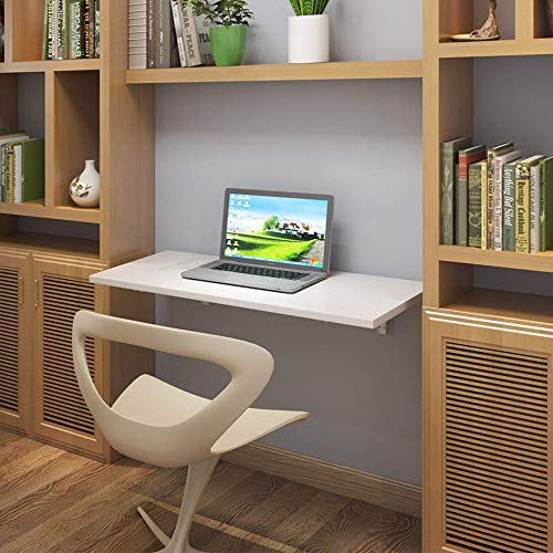 """Need Small Fold Down Wall Mounted Workbench Heavy Duty Small Folding Wall Table Length 36"""" Width 20"""" Perfect Addition to Garage & Shed/Home Office/Laundry/Home Bar/Kitchen & Dining Room AC15BW(9050)"""