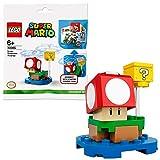 lego super mario blocco super fungo pack di espansione per espandere il tuo set di gioco 71360, modello 30385