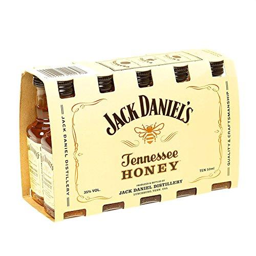 Jack Daniel's - Tennessee Honey 10 x 5cl Miniatures - Liqueur
