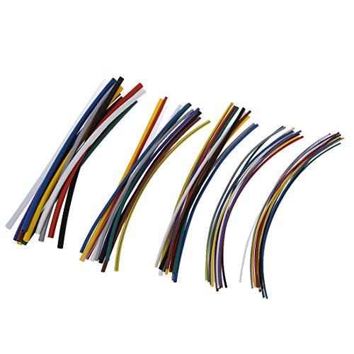 SODIAL(R) 55 tlg. Schrumpfschlauch Set Sortiment Schrumpfschlaeuche Universal