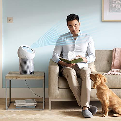 Dyson Pure Cool Me - Purificador de aire (925,2 m³/h, 59 dB, 8 h, Enfriamiento, Ventilador, 70°, 1,856 m)