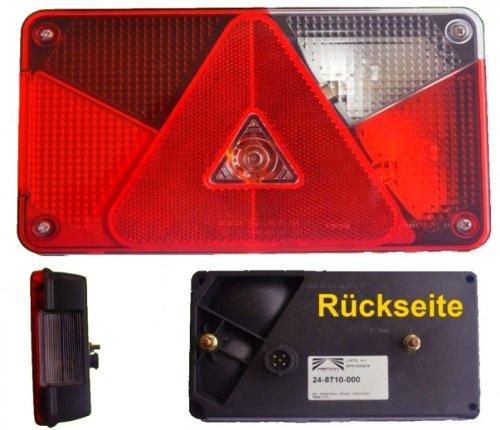 FKAnhängerteile Aspöck Multipoint 5 Leuchte rechts mit Rückfahrscheinwerfer + Bajonettanschluss