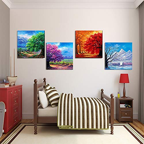 MITENG Ordenador HD Pintura en Aerosol Pintura al óleo Pintura Mural Cuatro...