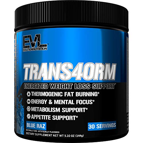Evlution Nutrition Trans4orm Thermogenic Energizing Fat Burner